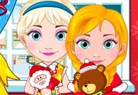 Anna And Elsa Babies Christmas Shopping
