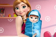 Anna and the New Born Baby