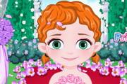 Baby Anna Flower Girl