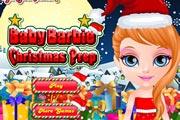 Baby Barbie Christmas Prep
