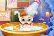 Baby Bedtime Bath game