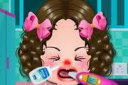 Baby Girl Got Flu
