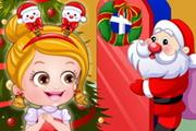Baby Hazel Christmas Dressup