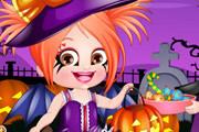 Baby Hazel Halloween Dressup game