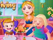 Baby Hazel Thanksgiving Day