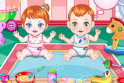 Baby Twin Trouble