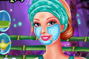 Barbie Fabulous Facial Makeover