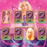 Barbie Matching Card