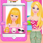 Barbie Selfie Make Up