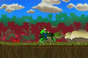 Ben 10 Space Bike game