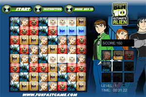 Ben 10 ultimate alien _puzzle