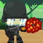 Captain War : Monster Rage game