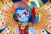 Crystal Wings Rainbow Dash