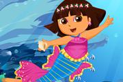 Cute Dora Mermaid