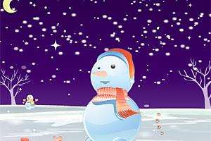 Cute Snowman Dressup