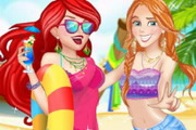 Disney Princess Beach Fashion 1