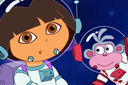 Dora And Boots Space Adventure
