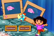 Dora Take Photos Underwater
