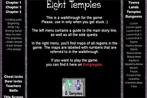 Eight Temples Walkthrough