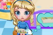 Elsa Bed Time