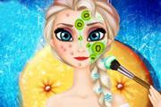 Elsa Makeover game