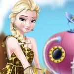 Elsa Time Travel Phreistoric Age