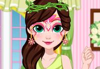 Fairy Face Painting Design