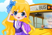 Fashion School Girl Dress Up
