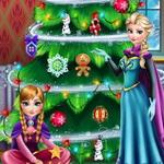 Frozen Christmas Tree Design
