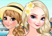 Frozen Sisters' Island Resort
