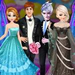 Frozen Sisters Wedding Room Design