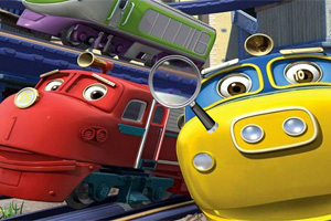 Hidden Numbers-Chuggington