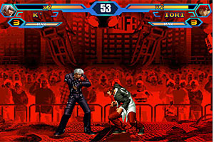 King of Fighters Wing 1.5 game