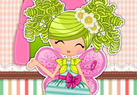 Lalaloopsy Girls Pix E.Flutters Dress Up Game