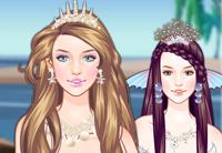 Mermaid Princess Hair Styles