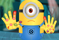 Minion Hand Doctor game