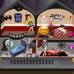 Monster High Halloween House game