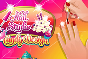 Nail Studio Candy Design game