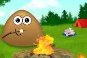 Pou Camp Fire