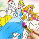 Princess Coloring Book I