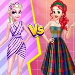 Princess Strip Style Vs Grid Style