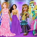 Princess Vs Monster Supermodel Battle game