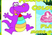 Proud Alligator Coloring