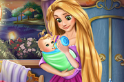 Rapunzel Baby Feeding game