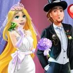 Rapunzel Wedding Party Dress