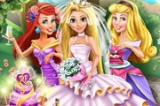 Rapunzel Wedding Party