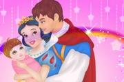 Snow White And Prince Care Newborn Princess