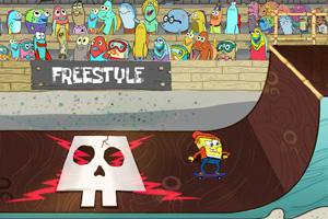 SpongeBob: Pro Sk8r game