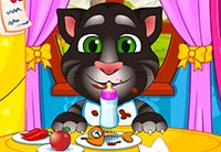 Talking Angela And Tom Cat Babies Baby Game