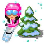 Tap Skier game
